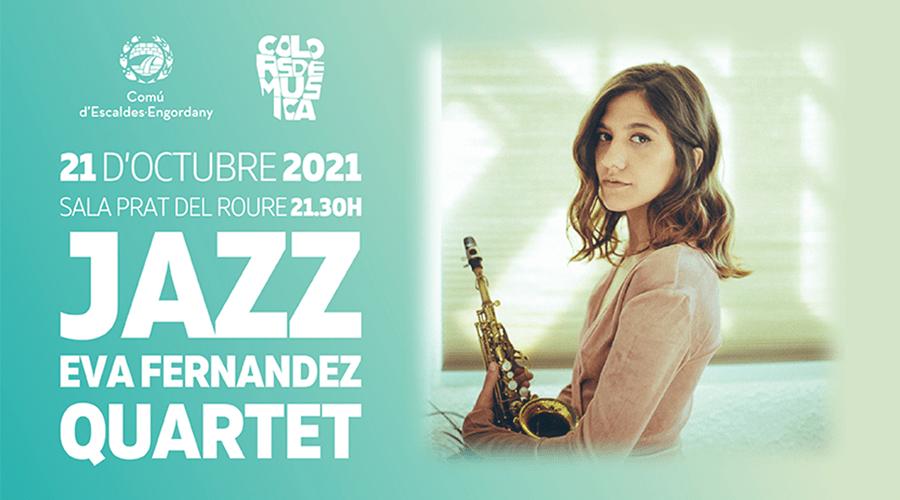 Concert de Jazz amb Eva Fernandez Quartet