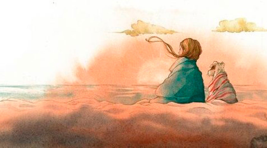 Il·lustració del llibre On van els àngels de neu