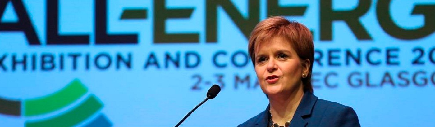 First Minister Nicola Sturgeon to Deliver Keynote Address at All-Energy / Dcarbonise 2019