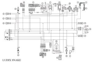 plan moteur documentation technique 50cc  Scooter et