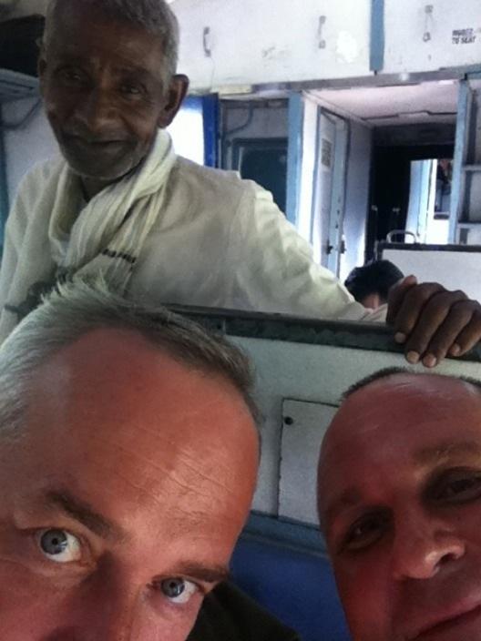 Индия поездка на поезде