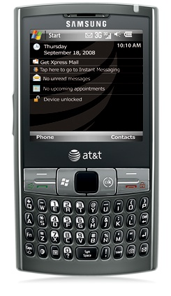 Samsung Epix Looks Like a Fancy Palm Treo. Or a Blackberry Whatever.