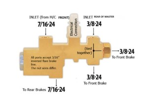 brake proportioning valve question  The Ford Torino Page