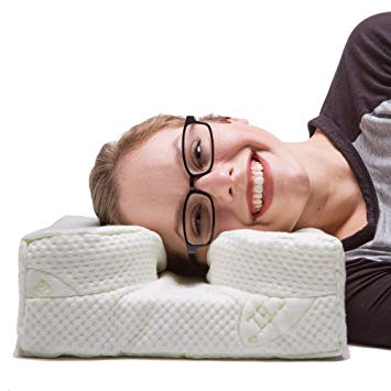 pillow to assist sleeping on side while