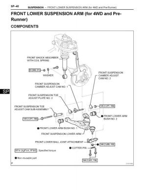 OME install Torque specs for 2006 taa needed   IH8MUD Forum