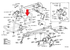 85 22re pickup coolant bypass hose help | IH8MUD Forum