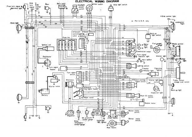 FJ40 Instrument Cluster Wiring Diagram
