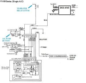 V8 Swap Compressor with Toyota AC wiring diagram | IH8MUD