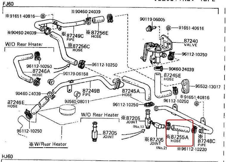 87 Toyota 22re Vacuum Diagram