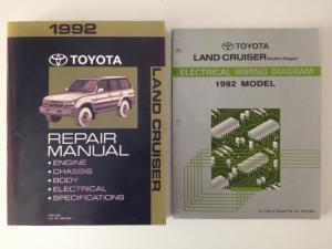 1992 Toyota FJ80 Factory Service Manual (FSM) and Electrical Wiring Diagram | IH8MUD Forum