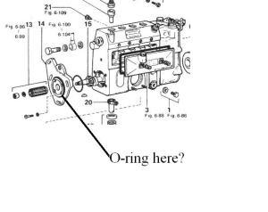 3B injector pump