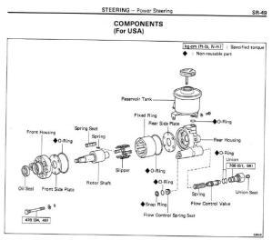 Power Steering Pump Diagram  DIY Enthusiasts Wiring