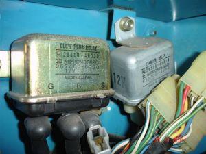 Internal wiring of BJ40BJ42HJ42 glow relay (Manual glow) | IH8MUD Forum