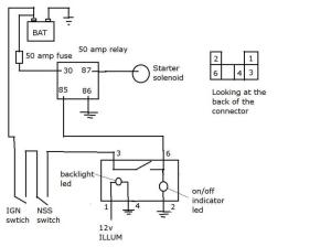 Starterignition switch bypass circuit question | IH8MUD Forum