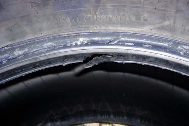 Tire Damage Question IH8MUD Forum