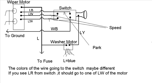 EZ-wire To Stock Wiper Motor Question