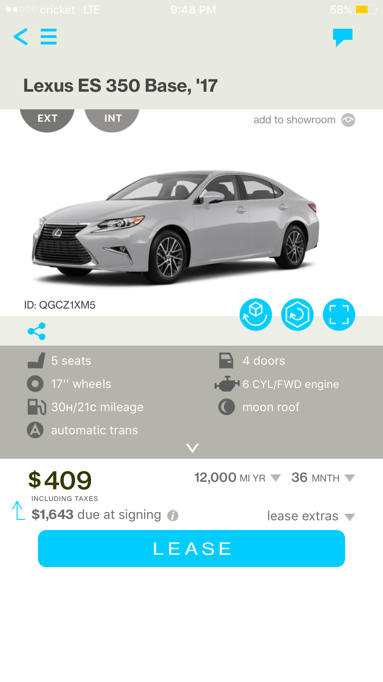 2017 Lexus ES350 Lease Deal Evaluation Please Ask the Hackrs
