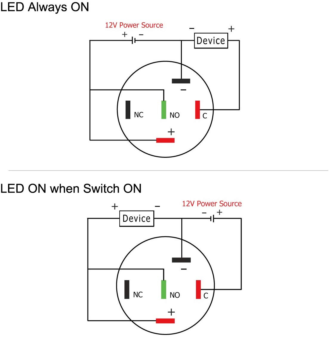 Control Panel Switches For Back Ac Outlets