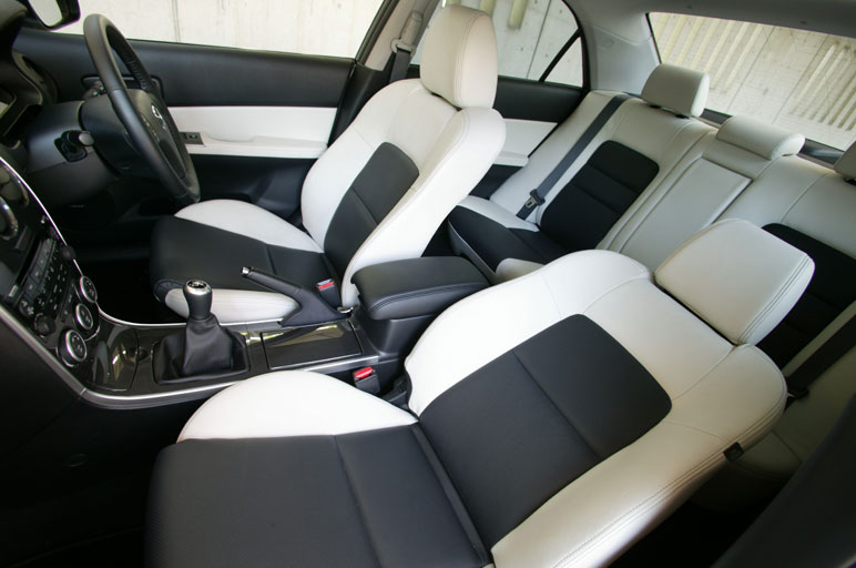 Any Pictures Of Blackwhite Interior Mazda 6 Forums