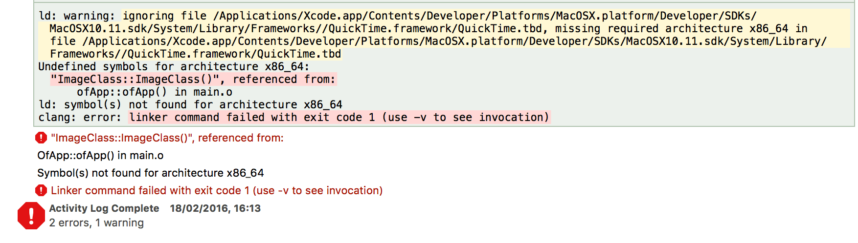 Undefined Symbols For Architecture Armv7 Xcode 6 2