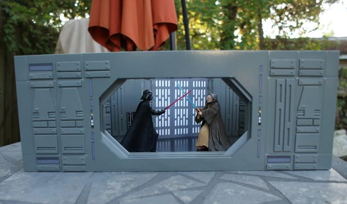ANH Death Star Lightsaber Duel