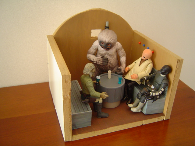 Cantina Tables Small Dioramas