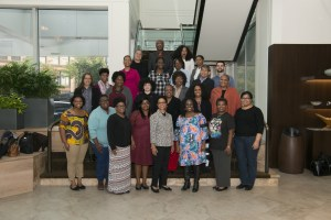 Photo of DLF HBCU Fellows by Gary Yon