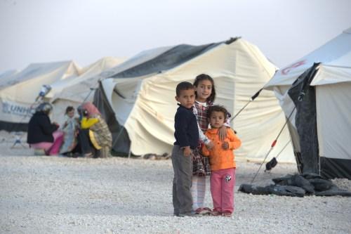 Syrian refugees, Jordan. Paul Jeffrey, ACT 2012