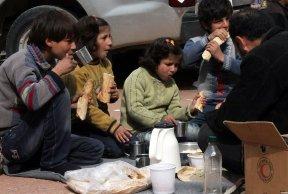Famille syrienne, Damas, Feb-2015.