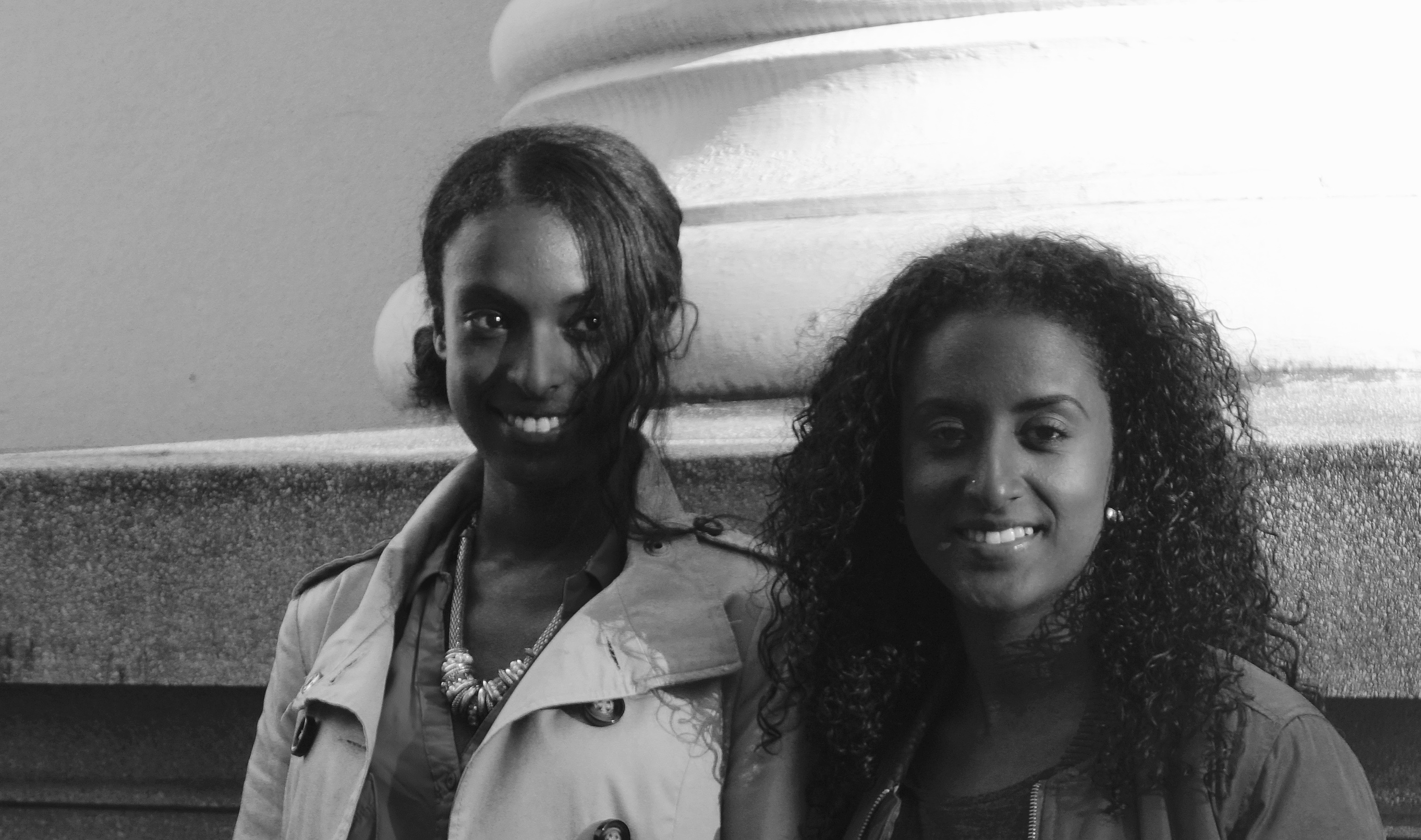 Série portraits: Senait et Veronica Almedom, deux Suisses engagées pour défendre la cause des Erythréens en Suisse.