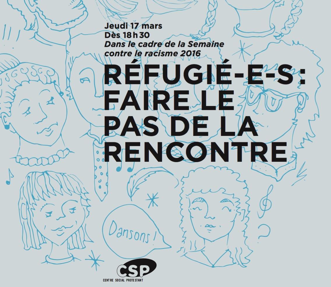 Réfugiés: Faire le pas de la rencontre!