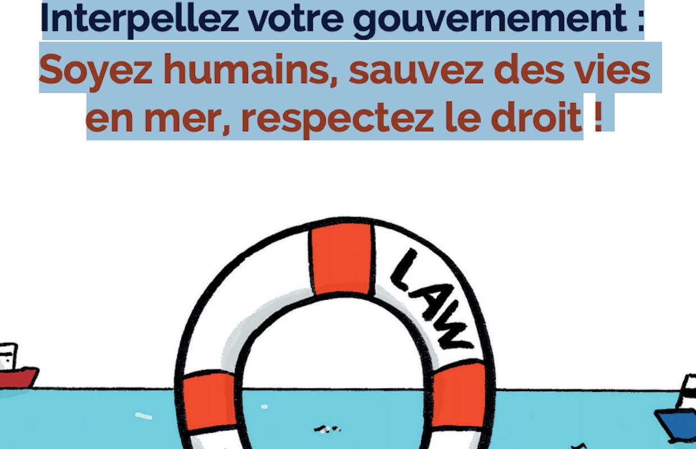 #RespectLawOfTheSea – SOS MEDITERRANEE demande aux Etats européens de ne plus laisser mourir en mer et de stopper les renvois en Libye