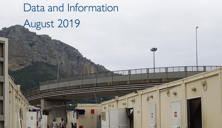 Mixed Migration Flows in the Mediterranean – IOM Compilation of Available Data and Information (August 2019)