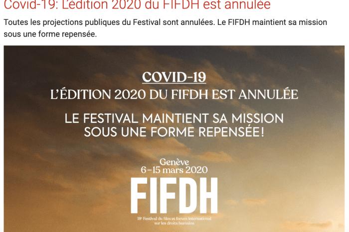 FIFDH 2020: les films et événements sur la migration — Le temps des réfugiés