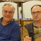Miquel Porta (Conferenciant) i Sagi Prat i Crosas (Presentador i conferenciant)