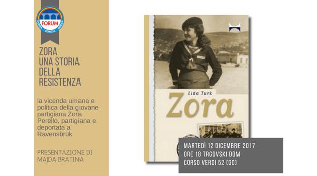 """""""Zora. Una storia della Resistenza"""""""