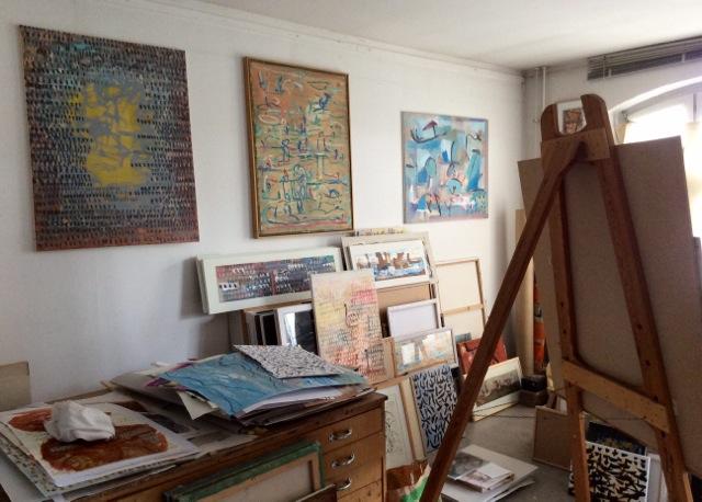 Atelier Abstrakte Bilder Atelier Malerei