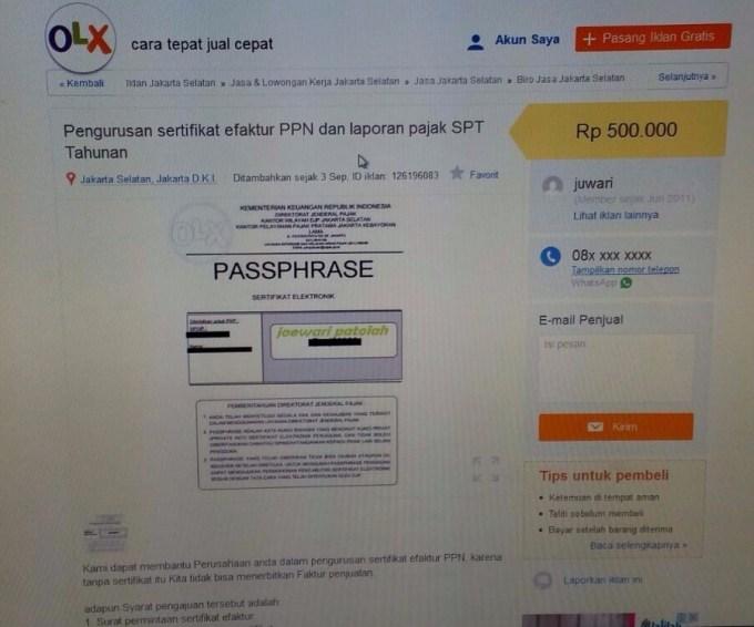 Lhadalah Ada Yang Jual Faktur Pajak Forum Pajak Indonesia