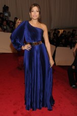 Eva Mendes, in Stella McCartney, with Fred Leighton and Van Cleef & Arpels jewels.