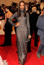 Joan Smalls, in Tom Ford.
