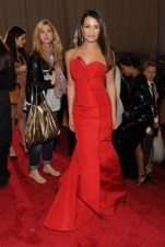 Lea Michele, in Escada.