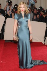 Madonna, in Stella McCartney, with Cartier jewels.