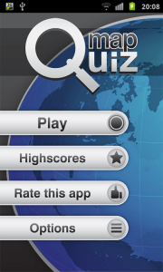 MAP QUIZ   the newest quiz game with a twist     Android Forums at     MAP QUIZ   the newest quiz game with a twist   menu png