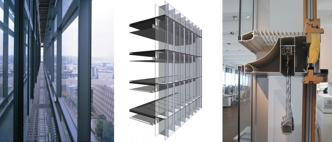 Double Skin Wall : Double skin curtain wall revit okeviewdesign