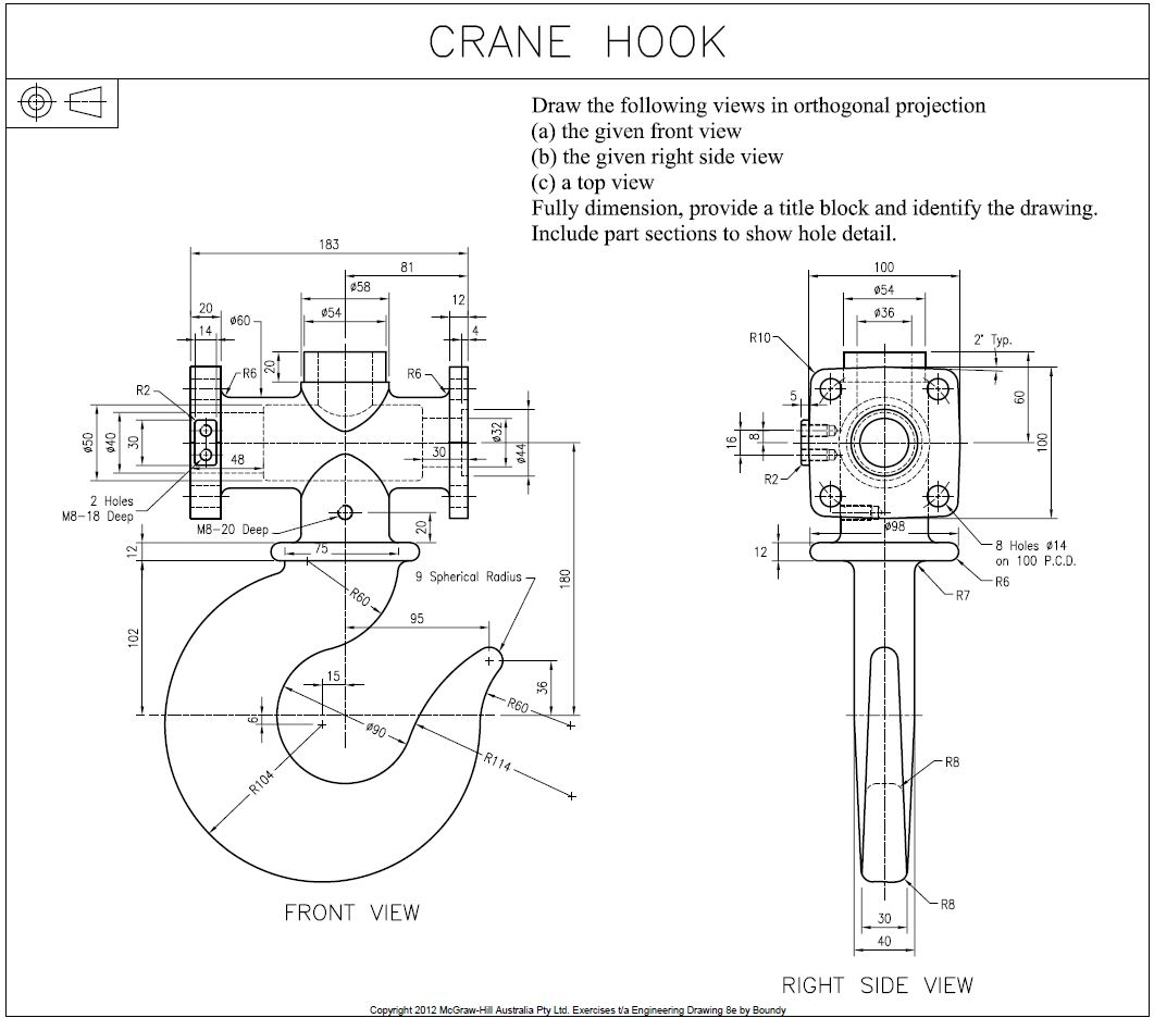 Help How Can I Create A 3d Model This Crane Hook