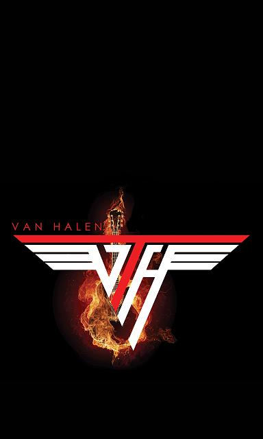 Van Halen Logo Wallpaper