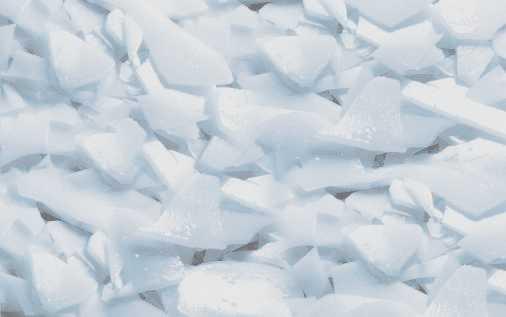 la glace est blanche ou transparente