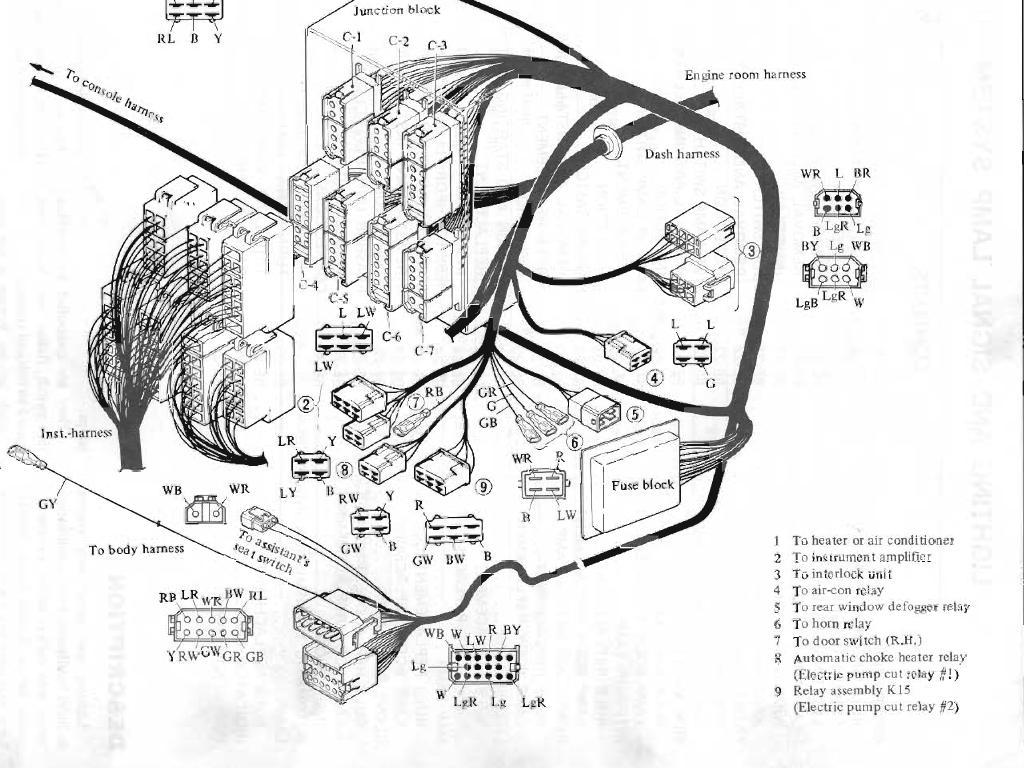 1976 datsun 280z wiring diagram schematic wiring diagrams schematics