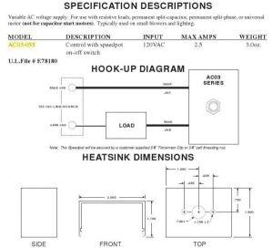 Wiring Help Dayton Fan Motor Frwrd Rev drum Speed