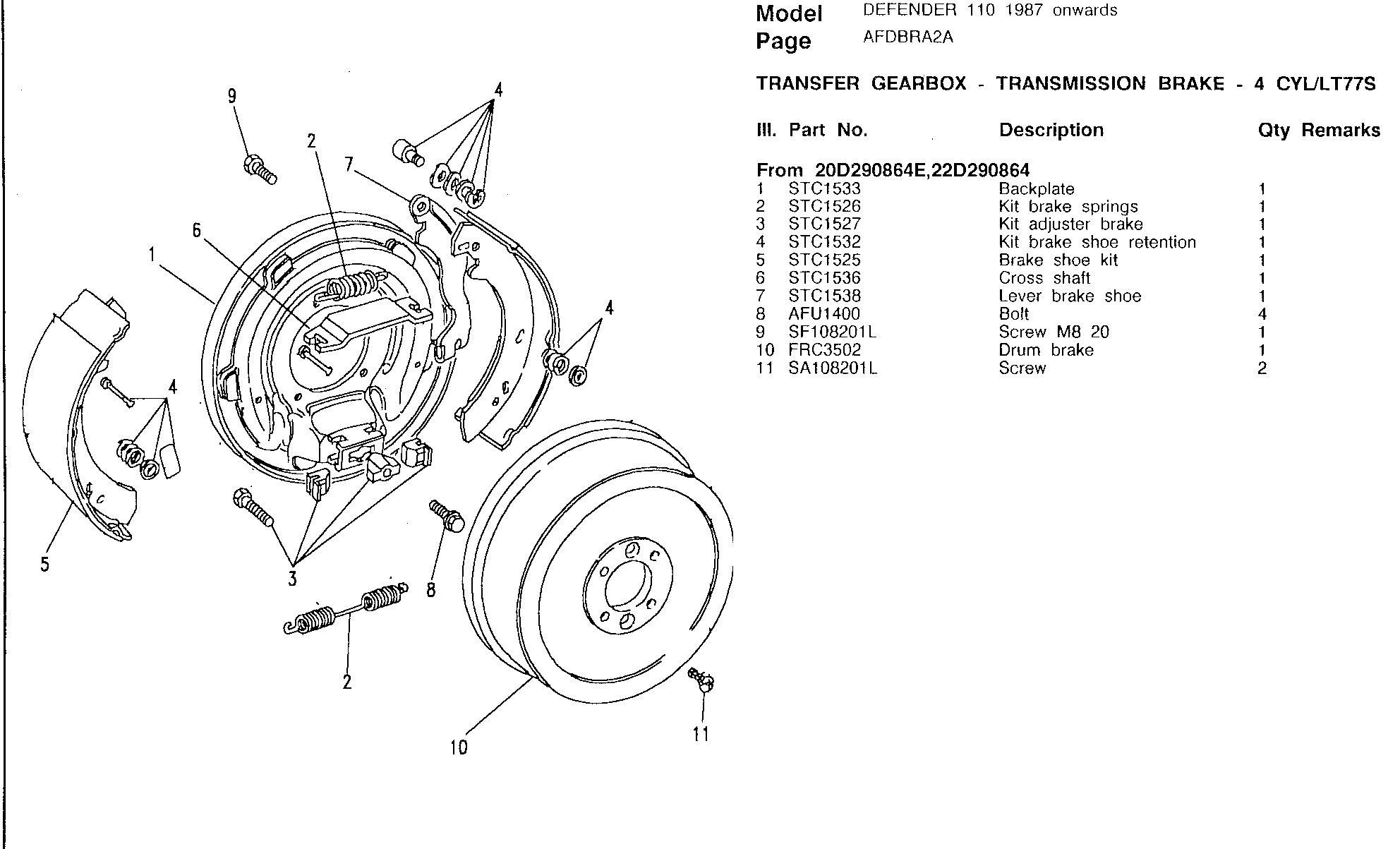 Transmission Brake Assembly